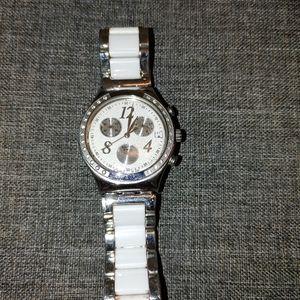 Swatch metal watch